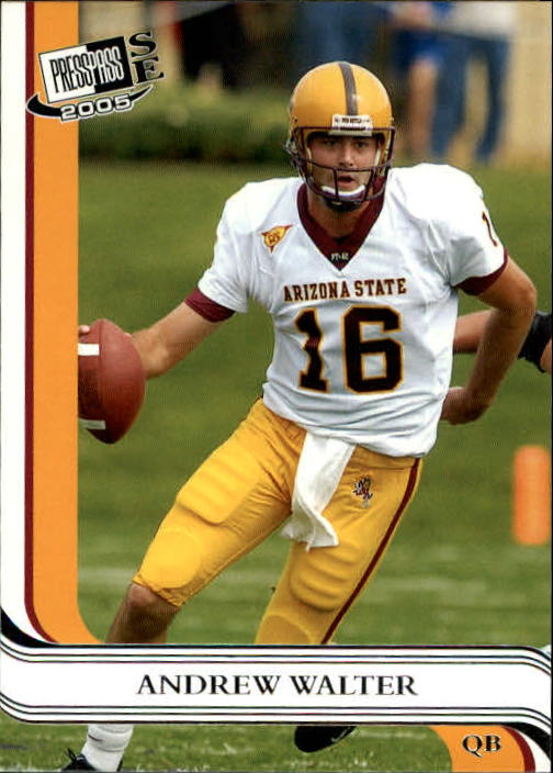 2005 Press Pass SE #9 Andrew Walter