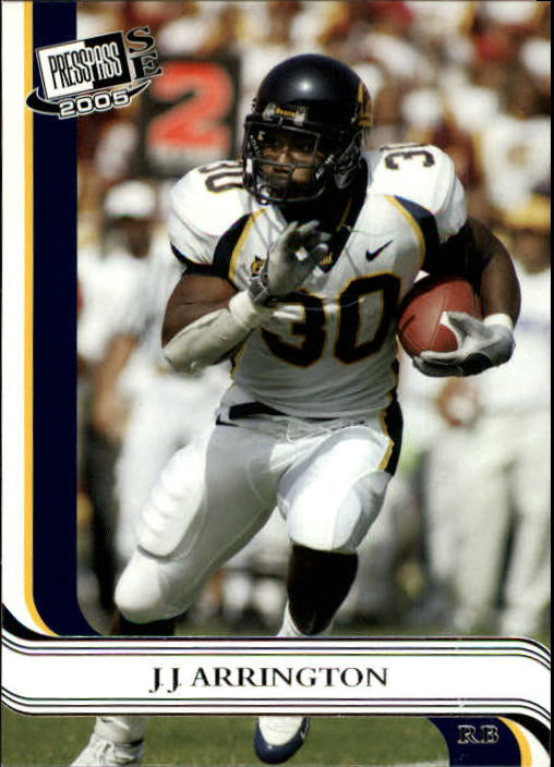 2005 Press Pass SE #11 J.J. Arrington