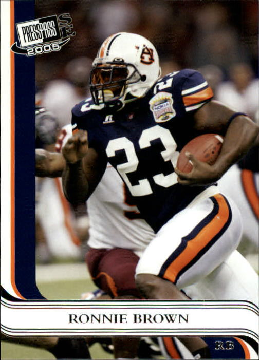2005 Press Pass SE #13 Ronnie Brown front image