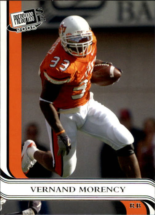 2005 Press Pass SE #17 Vernand Morency