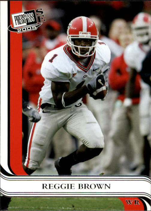 2005 Press Pass SE #21 Reggie Brown front image