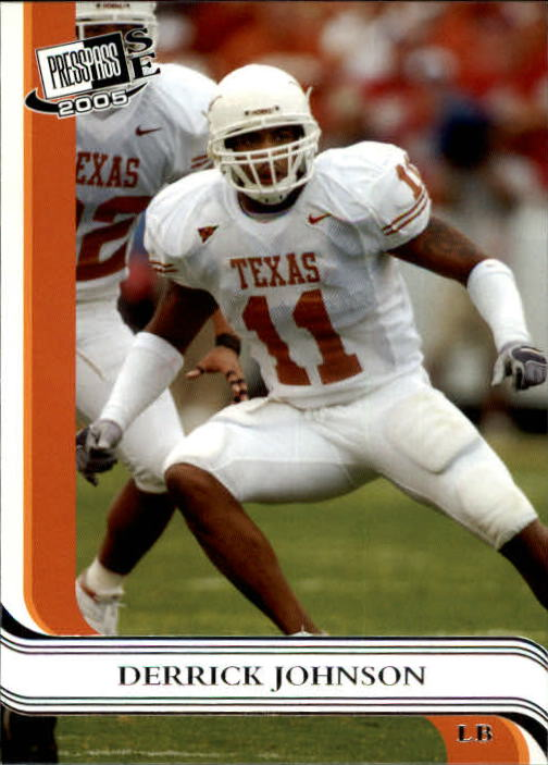 2005 Press Pass SE #38 Derrick Johnson