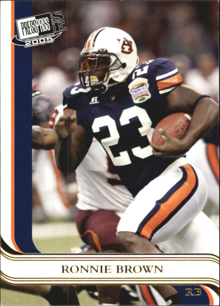 2005 Press Pass SE Gold #13 Ronnie Brown