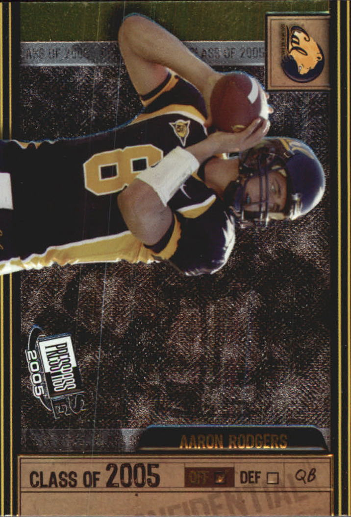 2005 Press Pass SE Class of 2005 #CL1 Aaron Rodgers