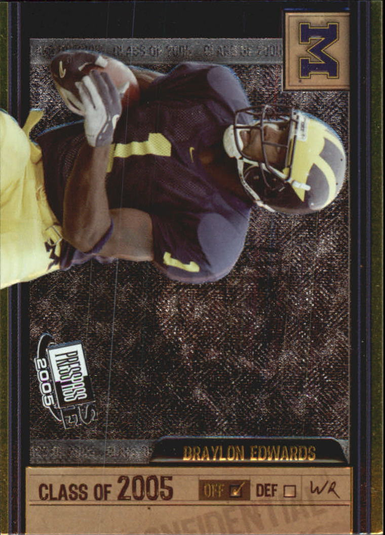2005 Press Pass SE Class of 2005 #CL2 Braylon Edwards