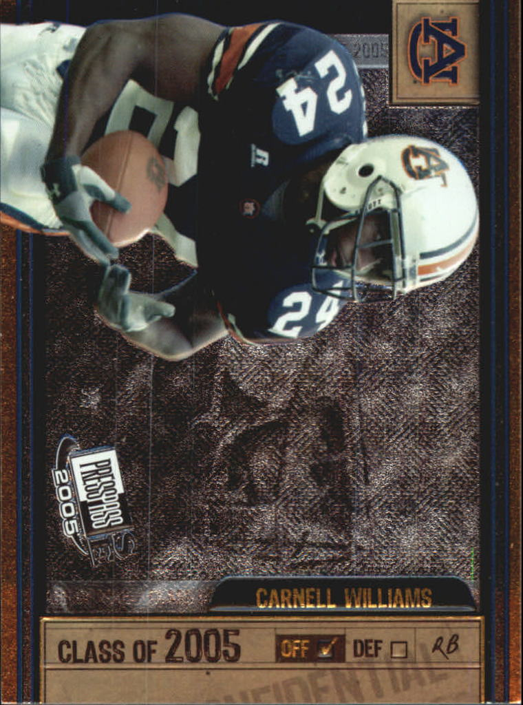 2005 Press Pass SE Class of 2005 #CL9 Cadillac Williams