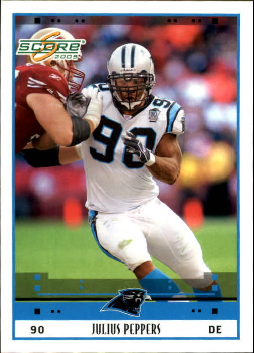 2005 Score #39 Julius Peppers