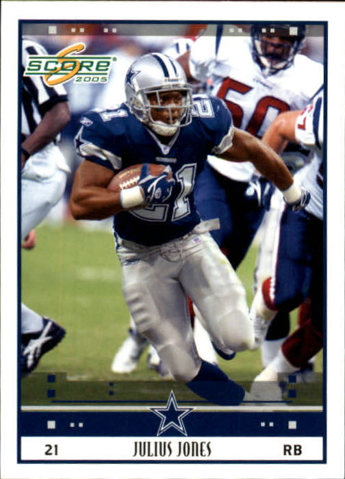 2005 Score #74 Julius Jones