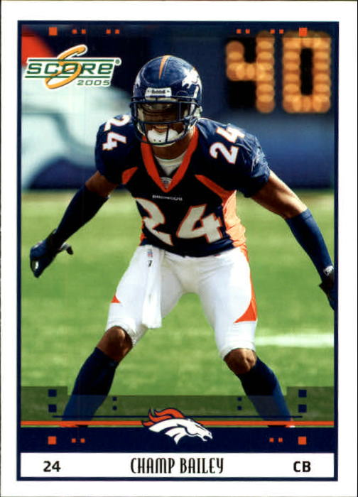 2005 Score #83 Champ Bailey