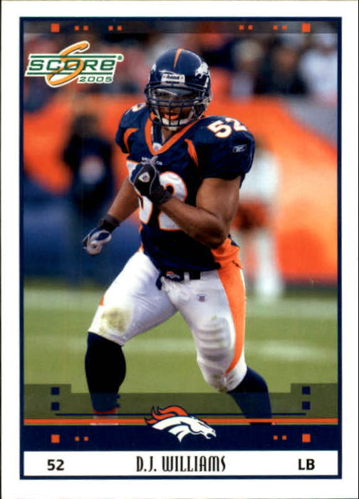 2005 Score #84 D.J. Williams