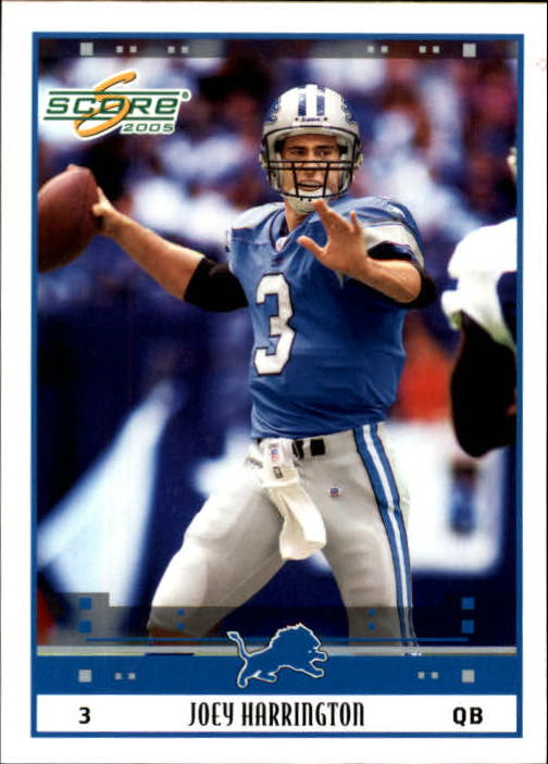 2005 Score #94 Joey Harrington