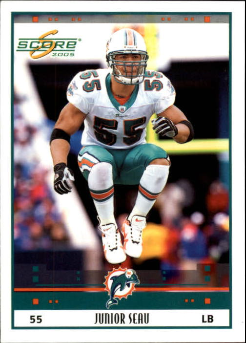 2005 Score #148 Junior Seau