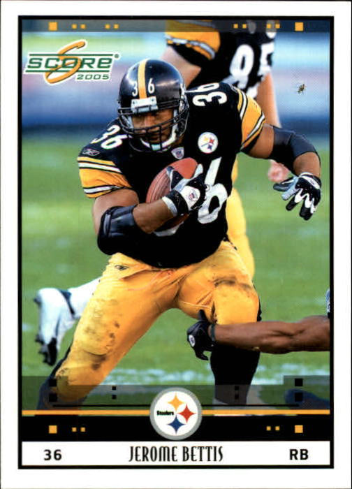 2005 Score #229 Jerome Bettis