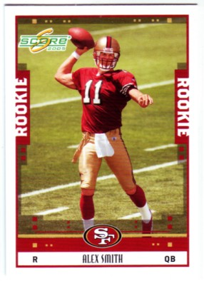 2005 Score #331 Alex Smith QB RC front image
