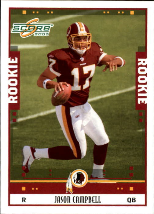 2005 Score #353 Jason Campbell RC