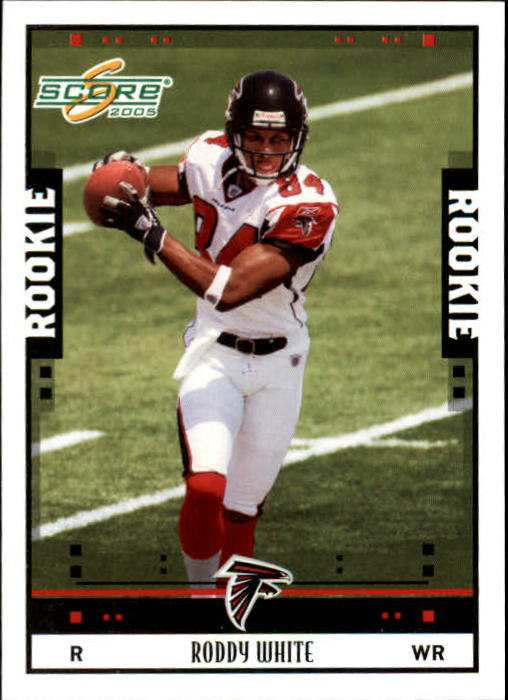 2005 Score #354 Roddy White RC
