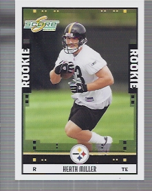 2005 Score #356 Heath Miller RC