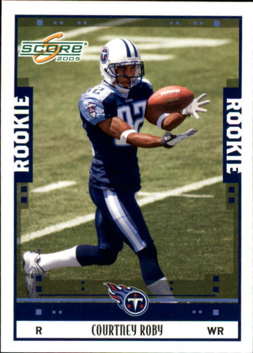 2005 Score #369 Courtney Roby RC