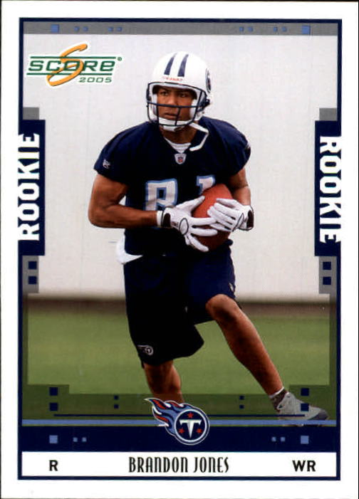 2005 Score #375 Brandon Jones RC