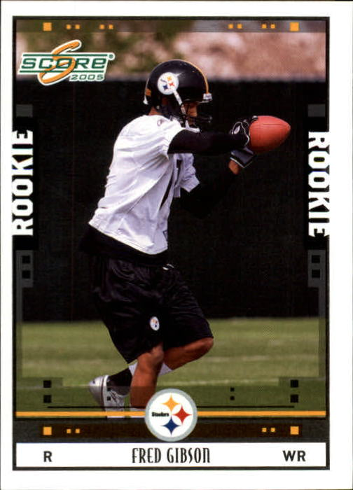 2005 Score #385 Fred Gibson RC
