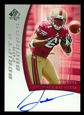 2005 SP Authentic Scripts for Success Autographs #SSFG Frank Gore