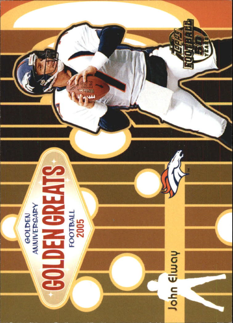 2005 Topps Golden Anniversary Golden Greats #GA5 John Elway