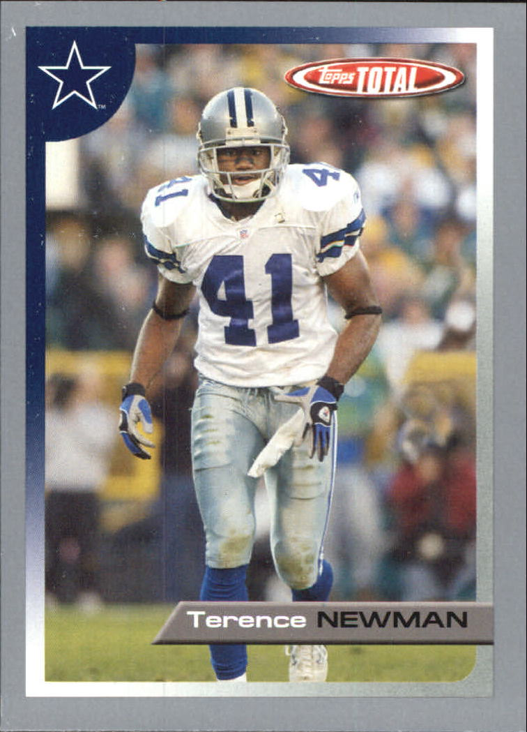 2005 Topps Total Silver #4 Terence Newman