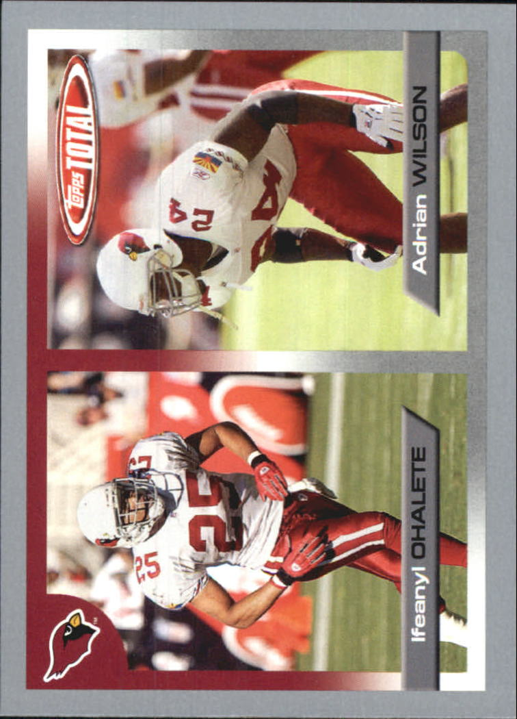 2005 Topps Total Silver #8 Ifeanyi Ohalete/Adrian Wilson