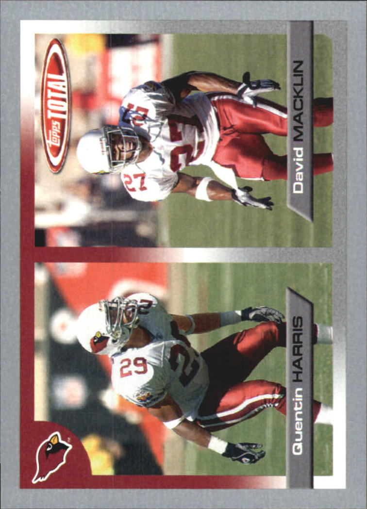2005 Topps Total Silver #133 Quentin Harris/David Macklin