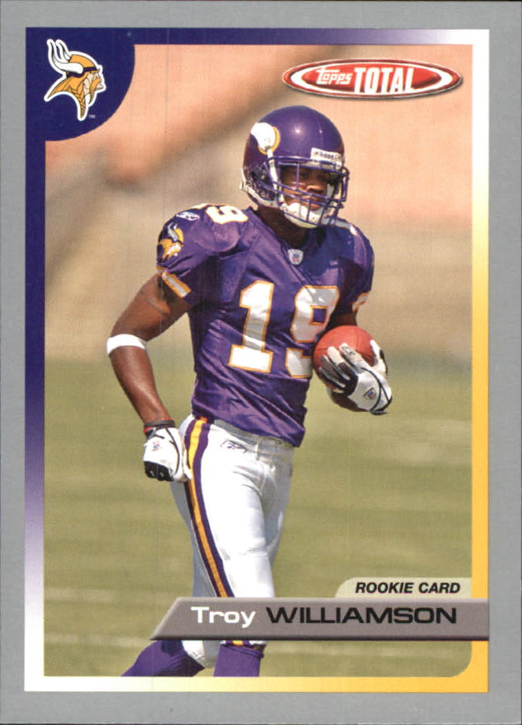 2005 Topps Total Silver #492 Troy Williamson