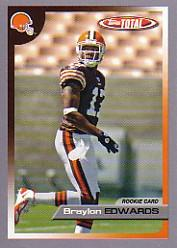 2005 Topps Total Silver #517 Braylon Edwards