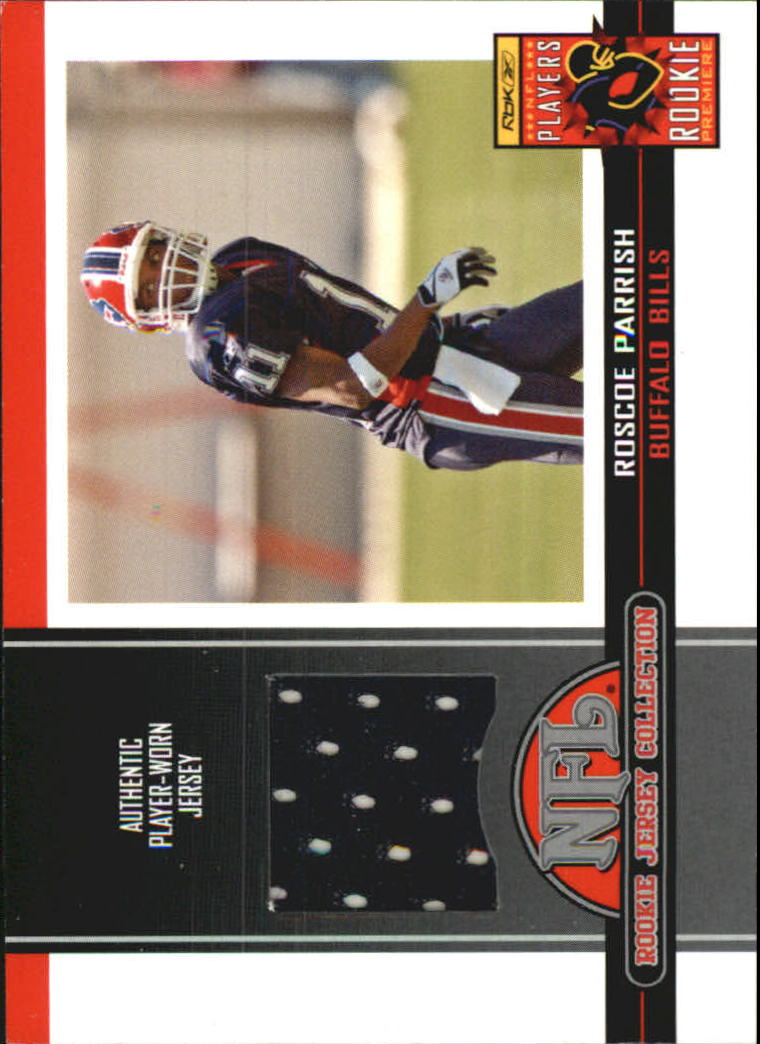 2005 Topps Total Rookie Jerseys #5 Roscoe Parrish