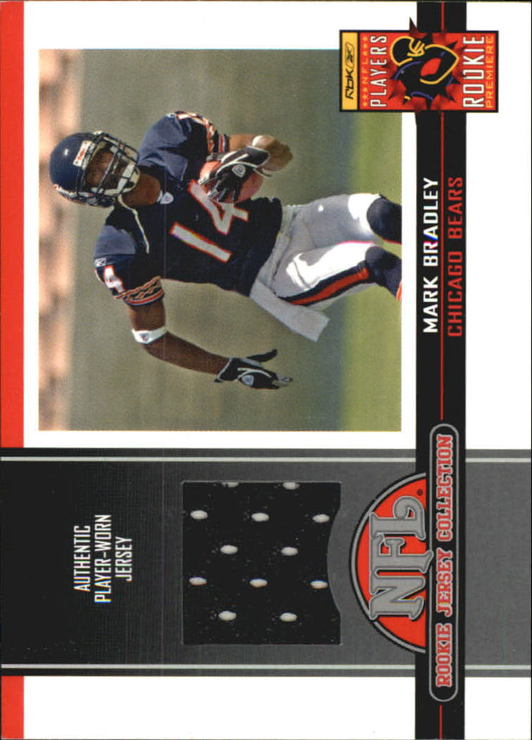 2005 Topps Total Rookie Jerseys #8 Mark Bradley