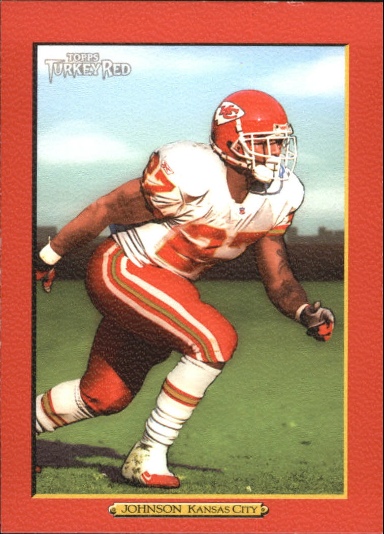 2005 Topps Turkey Red Red #145 Larry Johnson