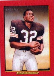 2005 Topps Turkey Red Red #239 Jim Brown
