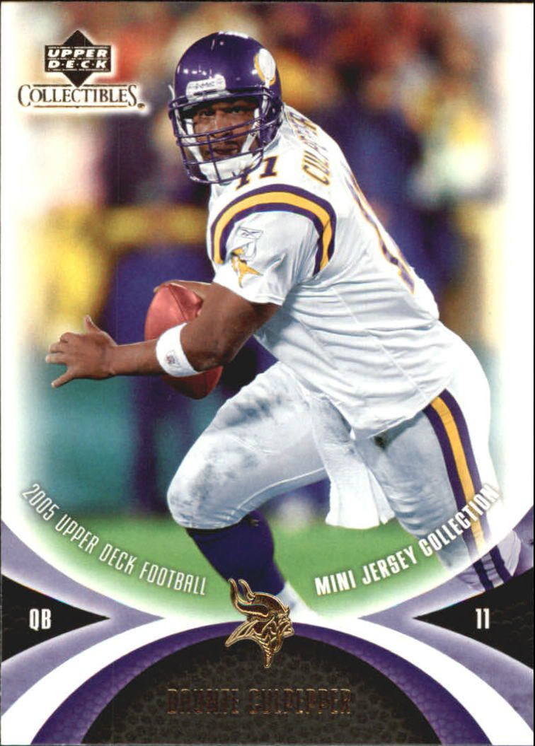 2005 UD Mini Jersey Collection #34 Daunte Culpepper