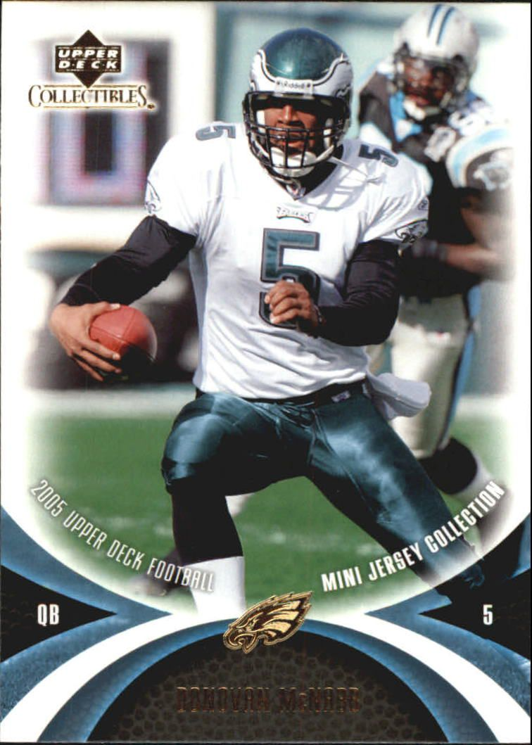 2005 UD Mini Jersey Collection #49 Donovan McNabb