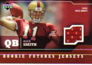 2005 Upper Deck Rookie Futures Jerseys #AS Alex Smith QB