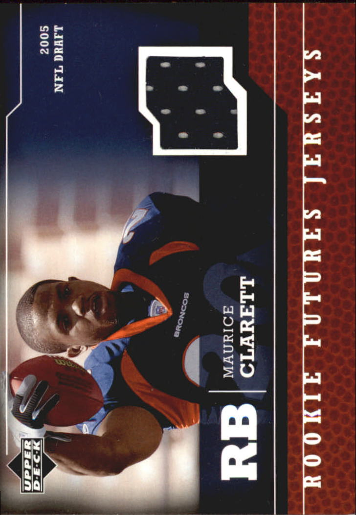 2005 Upper Deck Rookie Futures Jerseys #MO Maurice Clarett