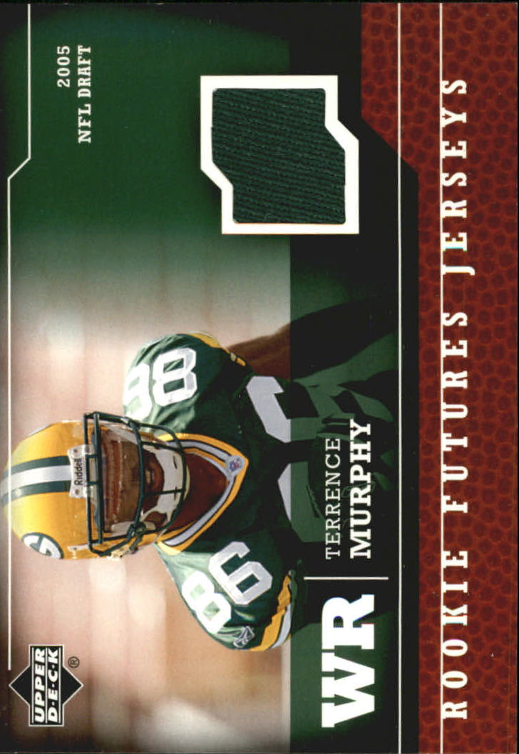 2005 Upper Deck Rookie Futures Jerseys #TM Terrence Murphy