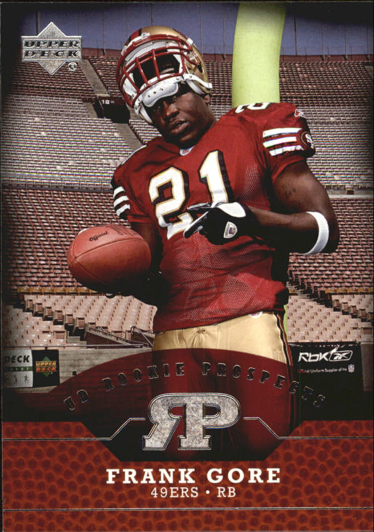 2005 Upper Deck Rookie Prospects #RPFG Frank Gore
