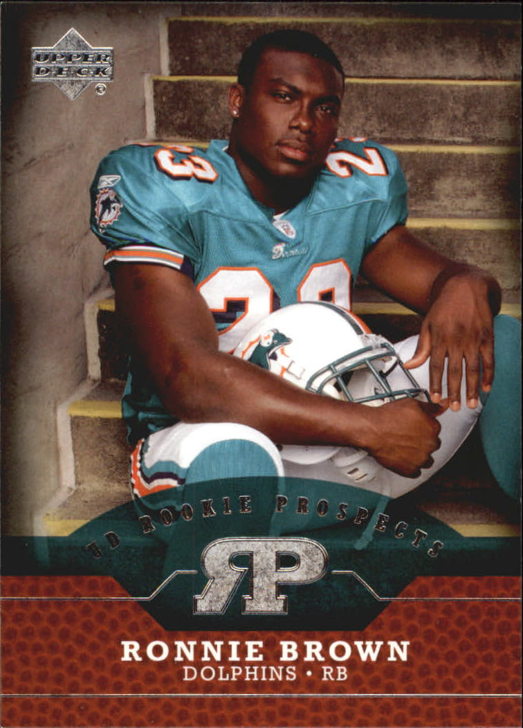 2005 Upper Deck Rookie Prospects #RPRB Ronnie Brown