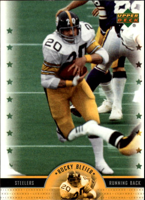 2005 Upper Deck Legends #4 Rocky Bleier