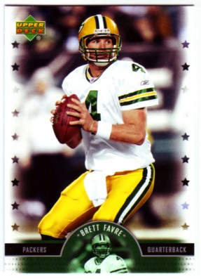 2005 Upper Deck Legends #8 Brett Favre