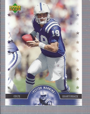 2005 Upper Deck Legends #13 Peyton Manning