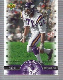 2005 Upper Deck Legends #38 Jim Marshall