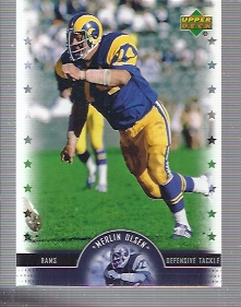 2005 Upper Deck Legends #47 Merlin Olsen