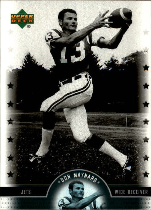 2005 Upper Deck Legends #55 Don Maynard