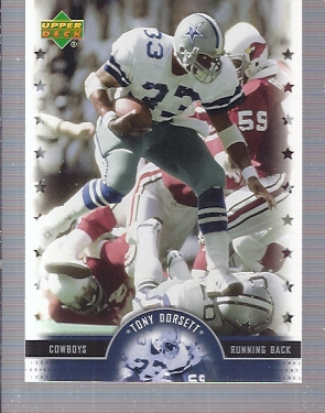 2005 Upper Deck Legends #86 Tony Dorsett