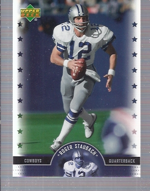 2005 Upper Deck Legends #88 Roger Staubach